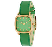 As Is Isaac Mizrahi Live! Reversible Strap Watch - J324162