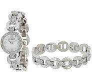 Liz Claiborne New York Watch and Bracelet Set - J324962