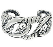 Carolyn Pollack Sterling Silver Lasting Connections Cuff 37.9g - J332062