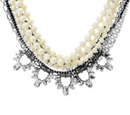 Stella & Dot Starlet Pearl 4-in-1 Necklace