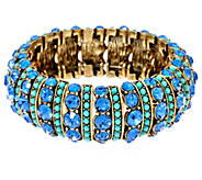 As Is Joan Rivers Crystal & Cabochon Stretch Bracelet - J333162