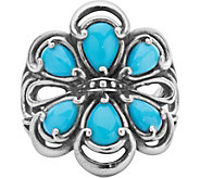 Carolyn Pollack Sterling Turquoise Ring - J378362