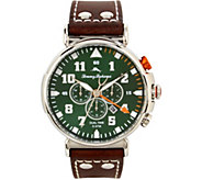 Tommy Bahama Chronograph & Date Leather-Strap Watch - J379762