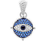 Judith Ripka Sterling Diamonique Evil Eye Enhancer - J380262