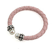 Honora Girls Cultured Freshwater Pearl Pink Cuff Bracelet - J102663