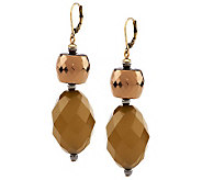 Linea by Louis DellOlio Multi Facet Bead Earrings - J271863