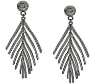 Linea by Louis DellOlio Palm Leaf Earrings - J290363
