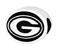 Sterling Silver University of Georgia Bead - J300763