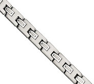 Forza 8-1/2 Brushed and Polished Prestigious Bracelet - J304563