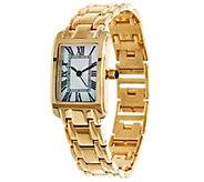 Bronze Roman Numeral Bracelet Watch by Bronzo Italia - J331563
