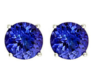 Premier 3.75 cttw Round Tanzanite Stud Earrings, 14K - J336163