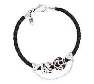Prerogatives Sterling Love Bead Bracelet Set - J337663