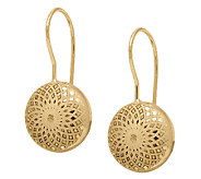 EternaGold Kaleidoscope Pattern Coin Bead Earrings, 14K - J339563