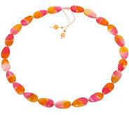 Lola Rose Jessica Adjustable Gemstone Necklace - J348563
