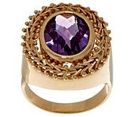 Imperial Gold & Gemstone Ring, 14K Gold - J354863
