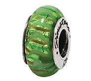 Prerogatives Sterling Green Glass Bead - J108864