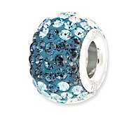 Prerogatives Sterling Blue Crystal Bead - J113164
