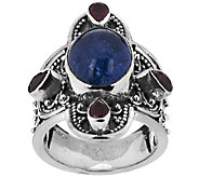 Artisan Crafted 5.70cttw Gemstone Sterling Ring - J294864