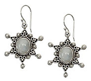 Novica Artisan Crafted Sterling Moon Star Earrings - J307564
