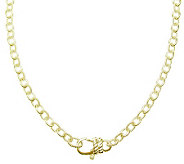 Judith Ripka Madison 30 Chain Necklace, Sterling 14K Clad - J313564