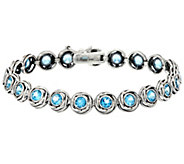 Sterling Silver 4.50 cttw 7-1/4 Tennis Bracelet by Or Paz - J331664