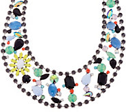 As Is LOGO Links by Lori Goldstein Tropicana Collar Necklace - J351664