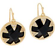 Melinda Maria Single Gemstone Drop Earrings - Julianne - J352164