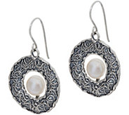 Or Paz Sterling Silver Cultured Pearl Dangle Earrings - J352464