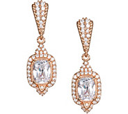 Judith Ripka Sterling & 14K Clad 4.35 cttw Diamonique Earrings - J378264