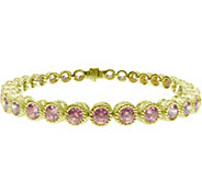 Judith Ripka Sterling & 14K Clad Diamonique 7-1/4 Bracelet - J379964