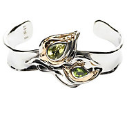 Hagit Gorali 1.90 ct tw Gemstone Cuff, Sterling/14K Gold - J301765