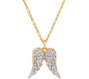 La Soula for Affinity Diamond Angel Wing Pendant, 1/4 cttw - J333865
