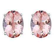 Premier 1.75 cttw Oval Morganite Stud Earrings,14K - J336165