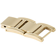 Bronzo Italia Set of 2 Stainless Steel Watch Extenders - J336565