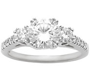3-Stone Diamond Bridal Ring, 14K, 2.00cttw by Affinity - J344165