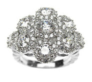 Judith Ripka Sterling Diamonique Ring - J308766