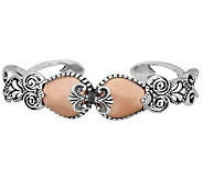 Carolyn Pollack Sterling Sincerely Fabulous Mixed Metal Cuff - J311066