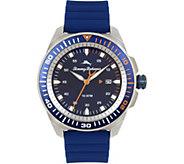 Tommy Bahama Surfside Blue Silicone-Strap SportWatch - J379766