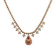 Smithsonian Simulated Victoria Transvaal Necklace - J265167