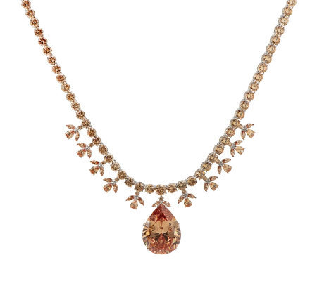 Smithsonian Simulated Victoria Transvaal Necklace