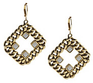 As Is Curblink Chain & Crystal Earrings - J296767