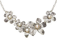 Hagit Gorali Sterling Cultured Freshwater PearlBloom Necklace - J301767