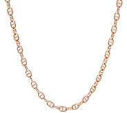 Bronze 20 Status Marine Link Necklace by Bronzo Italia - J322967