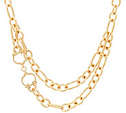 C. Wonder 18 Layered Chain Necklace with Status C Station - J328867