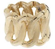 Melania Bold Open Oval Link Stretch Bracelet - J157168