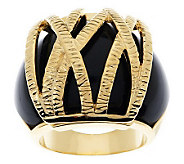 Melania Textured Wrap Design Ring - J267468
