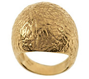 As Is Veronese 18K Clad Etrusca Domed Ring - J282468