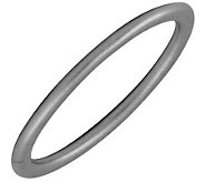 Simply Stacks Sterling Black Rhodium-Plated 2.25mm Satin Ring - J298068