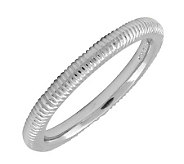 Simply Stacks Sterling Silver 2.25mm  TexturedRing - J298868