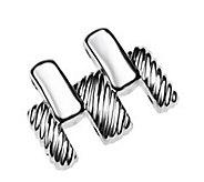 Judith Ripka Silvertone Stainless Steel Watch Extender Link - J315768